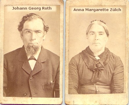 Johann Georg Roth and Anna Margarethe Zuelch